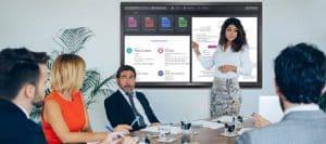 Interface digitale entreprise / de travail