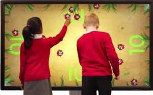 Vente écran interactif tactile pour ecole pas cher