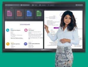 Définition écran interactif / touch screen / tactile