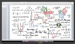 Comment réparer une rayure sur tableau / ecran interactif