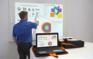 Écrans interactifs tactiles Clevertouch E-CAP (IR et EMR)